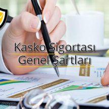 kasko sigortası, kasko genel şartlar, kasko şartları,