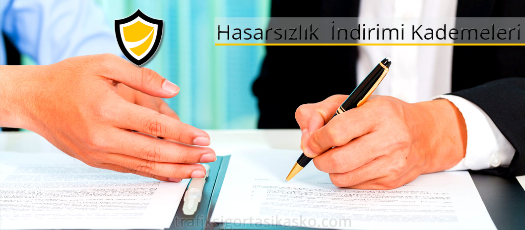 hasarsızlık indirimi kademeleri, hasarsızlık indirimi basamakları, 5. kademe, 4. kademe, indirim sözleşmesi, kasko sözleşmesi,